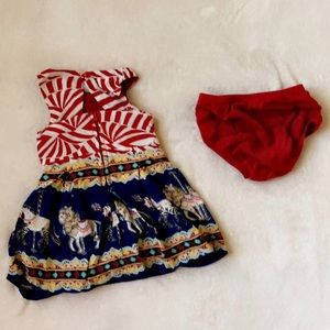 8e4826692e1273 OshKosh B gosh Dresses - Genuine kids Carousel dress 12 months